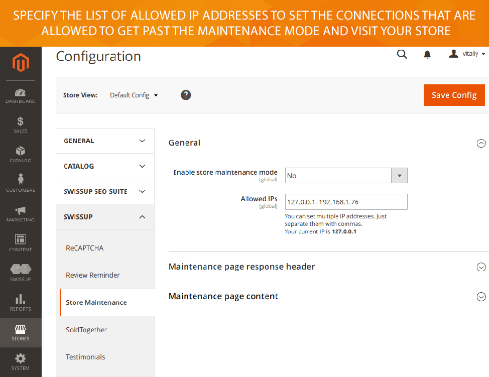 🥇 Magento 2 Store Maintenance Extension :: $79 :: Free