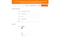 Improve Magento 2 store switcher in header with nice flags images selector. Easy to use, easy to upload.