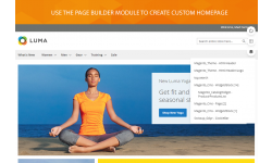 Customize Magento 2 homepage right at the frontend.