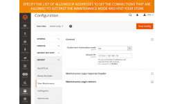 Enable or disable the Magento 2 maintenance mode in a signle click