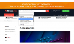 Ajax search and autocomplete functionality