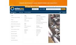 Magento 2 Amazon menu