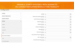 Configuration for the best M2 layered navigation module