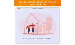 Add custom Magento 2 maintenance mode page