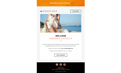 Choose up to 5 designs for email template