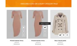 Luxury theme icons