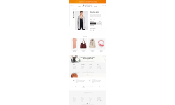 Luxury product page
