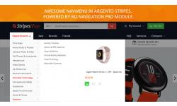 Amazon like navigation menu