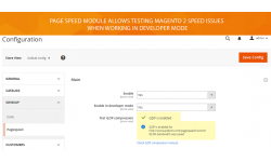 Speed up your Magento 2 store still in developer mode