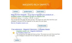 M2 Rich Snippets