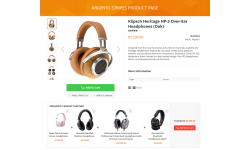 Stripes product page