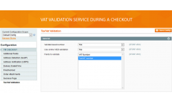 Tax Vat validation feature