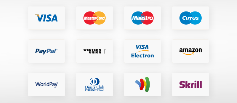 🥇 30 Free Credit card and Payment methods icons set for your store