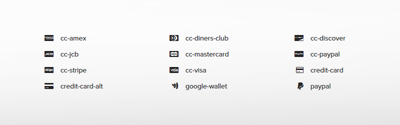 30 Free Credit Card And Payment Methods Icons Set For