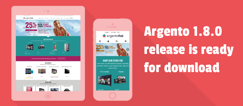Follow the Argento evolution. Get best Magento theme with Bootstrap support.