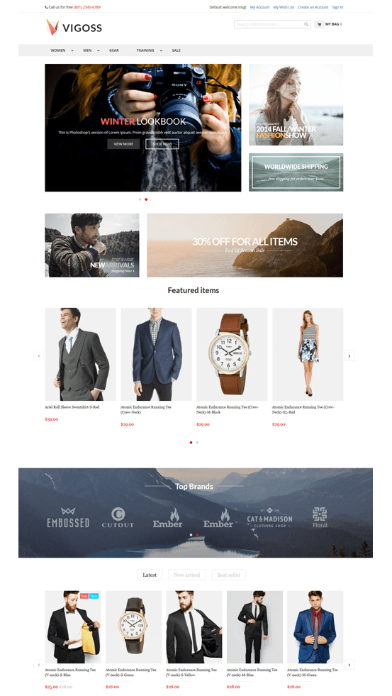 🥇 15 Free Magento 2 themes - complete list for March 2019  Plus 12