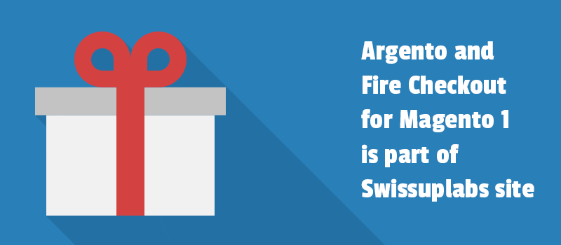 Argento and Fire Checkout for Magento 1 is part of SwissUpLabs site.