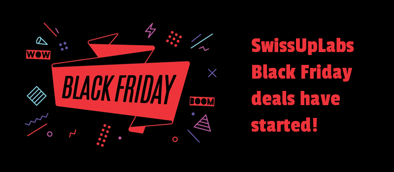 Super sales with SwissUpLabs Black Friday deals. Invest in future website success.