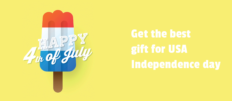 Get the best gift for USA Independence day. It is just about the right software with a discount for your website