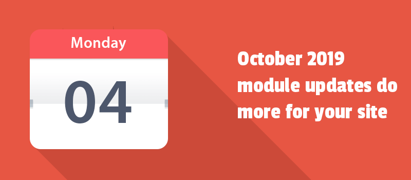 Try these updates for your website and get results. It's time to leverage the features described in the October monthly report.