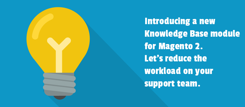 Introducing a new Knowledge Base module for Magento 2. Let's reduce the workload on your support team.