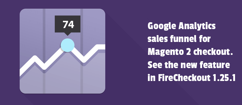 Google Analytics sales funnel for Magento 2 checkout. See the new feature in FireCheckout 1.25.1 release.