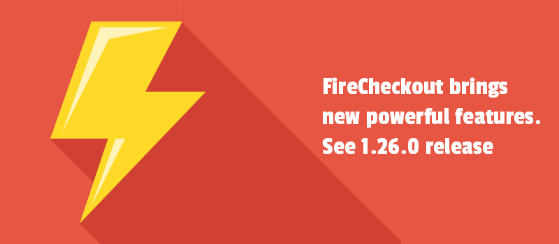 FireCheckout brings new powerful features. See 1.26.0 release.